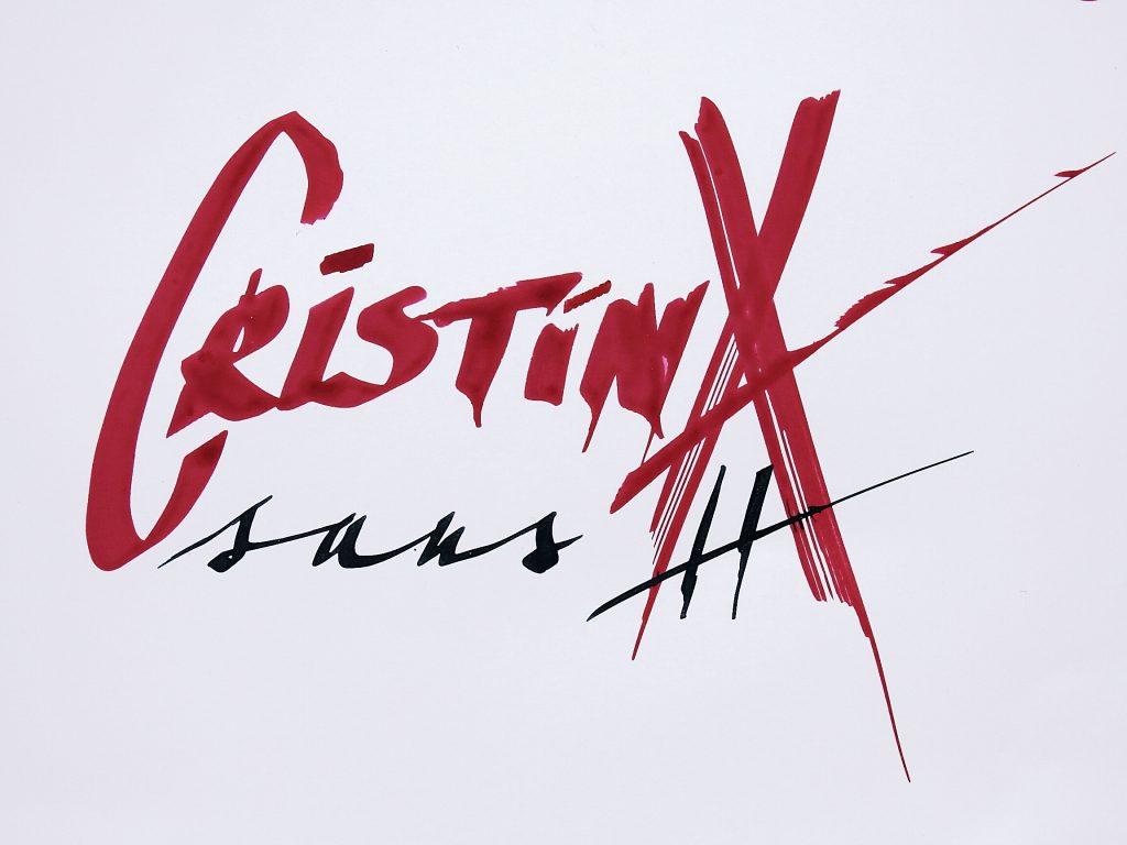 Caligrafie Cristina sans H